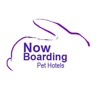 Now Boarding Pet Hotels Logo